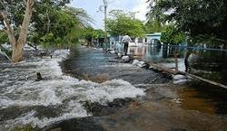 Затопленная столица Мексики