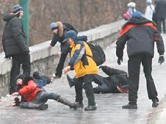 Киев превратился в сплошной каток