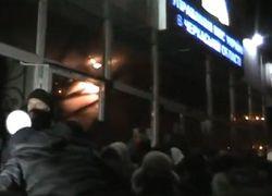 В Черкассах взорвали бомбу и отобрали табельное оружие у милиционера