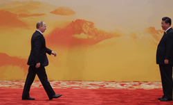 Москва и Пекин борются за мировых лидеров на параде в честь Победы