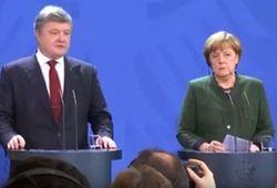 Путин поговорил с Меркель о Донбассе