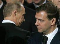 СМИ Франции: Владимир Путин недоволен Медведевым