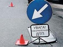 Пьяный водитель перевернул грузовик в Винницкой области