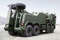 Компания Mercedes создала тяжелый эвакуатор для немецких военных