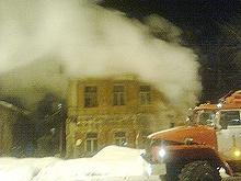 Что стало причиной пожара в пристройке к административному зданию?