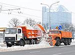 140 куб.м снега вывезено из Минска