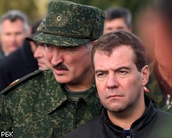 Лукошенко и Медведев