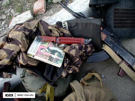 В Дагестане уничтожен блиндаж предполагаемых боевиков