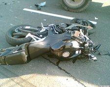 В Москве на Бережковской набережной разбился мотоциклист