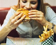 Быстрое поглощение еды влияет на увеличение веса.