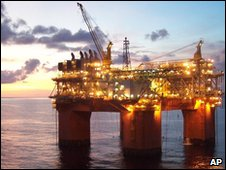 нефтедобывающая платформа