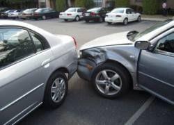 Крупная автоавария стала причиной пробки на Ленинградском шоссе