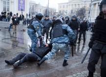 на Манежной площади задержали 20 человек