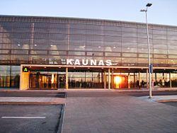 Вырос объем перевозок в Каунасском аэропорту
