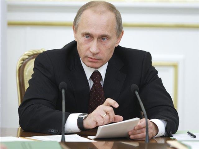 Владимир Путин предупреждает о росте инфляции в России свыше уровня 6, ...