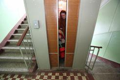 В столице Украины совершено нападение на женщину в лифте