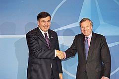 Почему Саакашвили недоволен позицией НАТО?