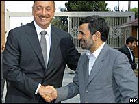 Алиев и Ахмадинеджад