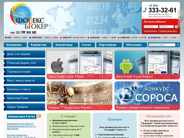 Российские брокеры форекс