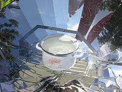 В Таджикистане научились готовить пищу при помощи… солнечных лучей