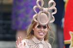 На еВау выставлена «рогатая» шляпка принцессы Беатрис