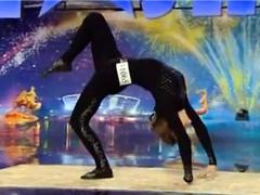 Бабушка-акробатка на шоу «Україна має талант-4»