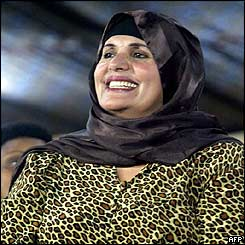 Супруга Каддафи Сафия Фаркаш призывает ООН расследовать смерть мужа