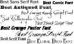 компьютерный шрифт
