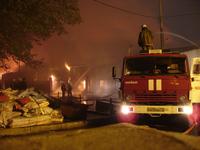 Из-за пожара на донецкой табачной фабрике погиб человек