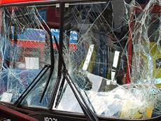 В Санкт-Петербурге попал в аварию автобус