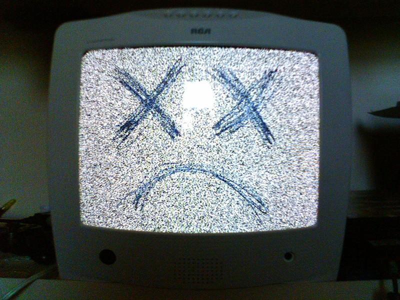 Проблемы с телевизором 1