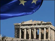 ЕС обещает помощь Греции в обмен на пакет бюджетных сокращений