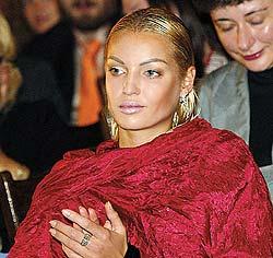 Как Волочкова отметила свой 36-й день рождения?