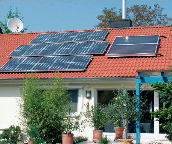 Использование.  Общее количество солнечной энергии, достигающее поверхности...