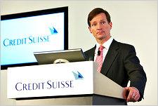 Швейцарская система незыблема - глава «CreditSuisse»