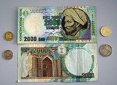 Курс тенге укрепился к евро, фунту и швейцарскому франку