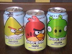Газировка Angry Birds