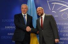 Договор Азарова с ЕС о Тимошенко