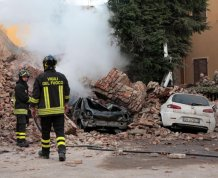 Итальянское землетрясение