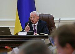 Азаров и бизнесмены по-разному оценивают состояние экономики Украины