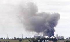 ЧП в США – горит химический завод, есть угроза сильных взрывов
