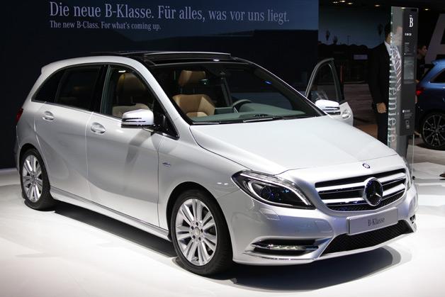 Объявлены российские цены на Mercedes B class