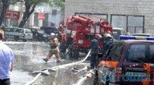 Огонь на складах у Шулявки