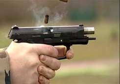 сотрудник ГАИ отправил 25 пуль в ЗИЛ