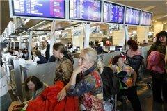 Пассажиры в Шереметьево устроили акцию протеста