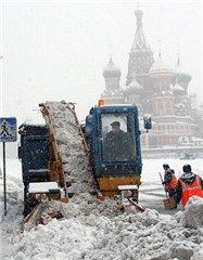 В Москве новый циклон – снегопад и метели