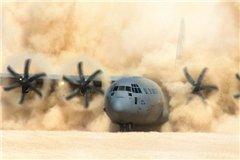 Американский военный самолет избежал катастрофы в небе над Казахстаном