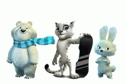 У сочинской Олимпиады будет 3 талисмана?