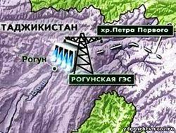 Скандал вокруг Рогунской ГЭС стал причиной словесной перепалки между Узбекистаном и Таджикистаном