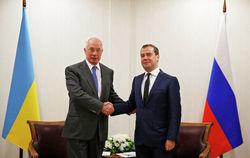 Николай Азаров поблагодарил Россию и Дмитрия Медведева